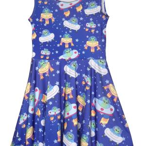Alien Blue Dres